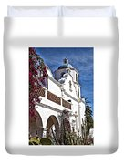 Old Mission San Luis Rey - California Duvet Cover