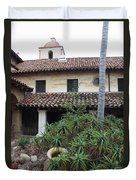 Old Mission Santa Barbara Duvet Cover