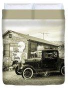 Old Model A Duvet Cover