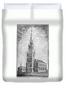 Old North Church, 1775 Duvet Cover