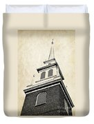 Old North Church In Boston Duvet Cover