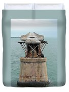 Old Overseas Hgwy Bridge 2 Duvet Cover