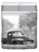 Old Pick Up Truck Duvet Cover