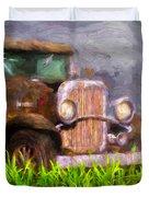 Old Pickup Duvet Cover