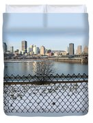 Old Port Of Montreal Duvet Cover