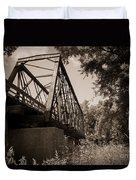 Old Rail Bridge Duvet Cover
