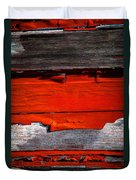 Old Red Barn Three Duvet Cover