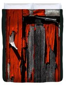 Old Red Barn Two 2 Duvet Cover
