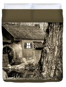 Old Red Mill Duvet Cover