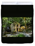 Old Rice Grist Mill Duvet Cover