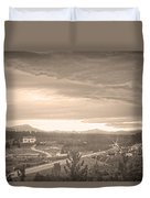 Old Rollinsville Colorado Duvet Cover