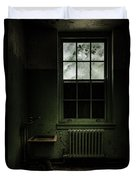Old Room - Abandoned Asylum - The Presence Outside Duvet Cover