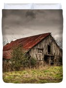 Old Rustic Barn Duvet Cover