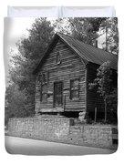 Old Rustic Cabin Duvet Cover