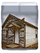 Old Rustic Rural Country Farm House Duvet Cover