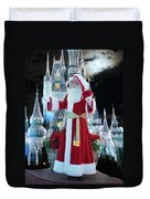 Old Saint Nick Walt Disney World Digital Art 02 Duvet Cover