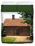 Winston-salem Nc - Old Salem Cottage Duvet Cover