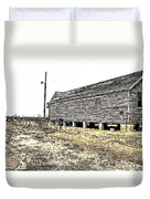 Old Salted Building Duvet Cover