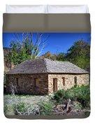 Old Sandstone Brick Farm House Nine Mile Canyon - Utah Duvet Cover