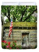 Old School House Duvet Cover