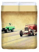 Old Scool Racing Duvet Cover
