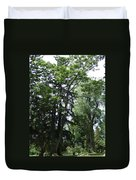 Old Section Mt Hope Cemetery Duvet Cover