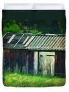 Old Shed Duvet Cover