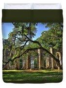 Old Sheldon Church Ruins 2 Duvet Cover
