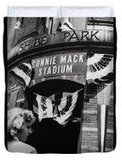 Old Shibe Park - Connie Mack Stadium Duvet Cover