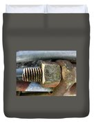Old Silo Stave Bolt Duvet Cover