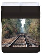 Old Southern Tracks Duvet Cover