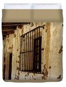 Old Spanish Mission Duvet Cover
