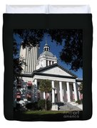Old State Capitol - Florida Duvet Cover