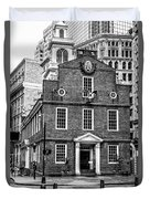 Old State House In Boston Duvet Cover