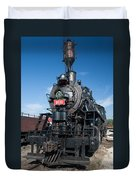 Old Steam Engine Duvet Cover
