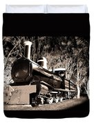 Old Steam Train Duvet Cover