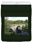 Old Stone Bridge In Scotland Duvet Cover