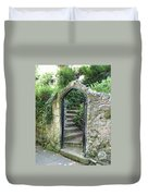 Old Stone Gate Duvet Cover