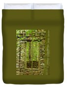 Old Stone House Duvet Cover