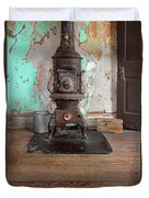 Old Stove Duvet Cover