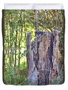 Old Stump Duvet Cover