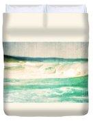 Old Surf Duvet Cover
