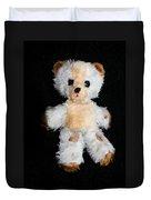 Old Teddy Bear Pepi Duvet Cover