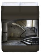Old Theater Stairs Duvet Cover