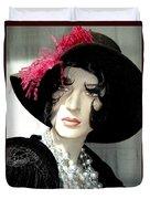 Old Time Elegance Duvet Cover