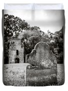 Old Tombstone  Duvet Cover