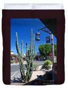 Old Town Cactus Duvet Cover