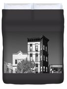 Old Town Chicago - The Second City Duvet Cover by Christine Till