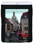 Old Town Dresden Duvet Cover