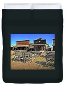 Old Town Mainstreet Duvet Cover by Marty Koch